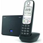 GIGASET AS690IP CORDLESS VOIP PHONE BLACK
