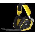 Corsair VOID Pro RGB Wireless SE Yellow ΑΚΟΥΣΤΙΚΑ