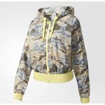 ADIDAS LADIES STELLASPORT ZIP CAMO JACKET AZ7754