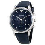 Emporio Armani Blue Dial Men's Chronograph Watch AR11018