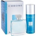 Azzaro Chrome Eau De Toilette 100ml & Deodorant Spray 150ml (13408)