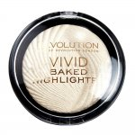 Makeup Revolution London Vivid Baked Highlighter 7.5g, Shade Golden Lights (45712)