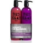 Tigi Bed Head Dumb Blonde Shampoo 750ml & Reconstructor 750ml (45873)