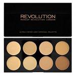 Makeup Revolution London Cover & Conceal Palette Shade Light, Concealer palette (49991)
