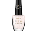 ASTOR QUICK & SHINE NAIL POLISH 8ml SHADE 104 KISS & CUDDLE (53546)