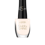 ASTOR QUICK & SHINE NAIL POLISH 8ml SHADE 105 HERE COMES THE BRIDE (53547)