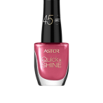 ASTOR QUICK & SHINE NAIL POLISH 8ml SHADE 204 LIFE IN PINK (53551)
