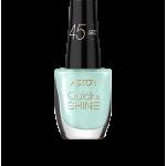 ASTOR QUICK & SHINE NAIL POLISH 8ml SHADE 601 ALLURING BLUE (53565)