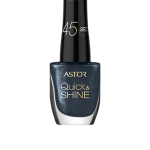 ASTOR QUICK & SHINE NAIL POLISH 8ml SHADE 602 LADY IN BLACK (53566)