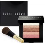 BOBBI BROWN ROSE SHIMMER BRICK SET WITH BRUSH 10.3gr (58249)
