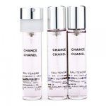 Chanel Chance Eau Tendre Twist & Spray Refill Eau de Toilette 3x20ml