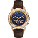 Brei Chronograph Orchestra Brown Croc Leather Strap Men's Watch TW1192