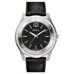 Breil Men's Orchestra Black Croc Leather Strap Watch  TW1195