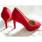 EVE Stilettos Suede Red (9PB35-1095)