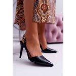 Bestelle High Heels Varnished Black Precise (S-276)