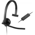 Logitech USB Headset H570e Mono - USB