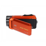 JVC GZ-R435 ORANGE VIDEO CAMERA