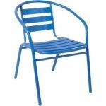 FUNKY Πολυθρόνα Μέταλλο/Αλουμίνιο Μπλε Ε242,2