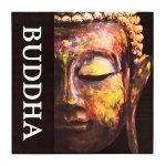 ΠΙΝΑΚΑΣ ΚΑΜΒΑΣ BUDDHA HM7156.01 80X80X2.5 εκ. 1τεμ
