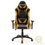 Καρέκλα γραφείου Russel-Gaming SUPREME QUALITY με PU χρώμα μαύρο-κίτρινο