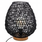 Φωτιστικό Etel pakoworld μαύρο Φ30x35.5εκ